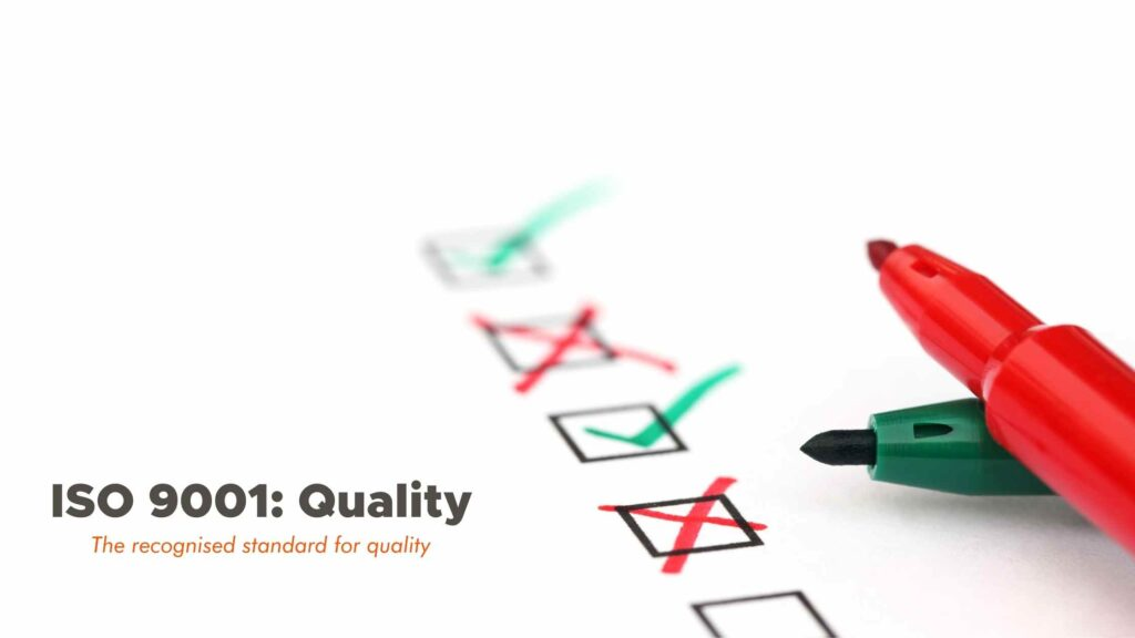 ISO 9001 - QMS - QUALITY MANAGEMENT SYSTEM